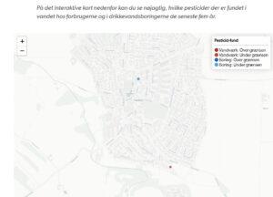 Hvis du selv går ind på GEUS kan du få alle aktuelle data om både vores og alle andre vandværker i Danmark